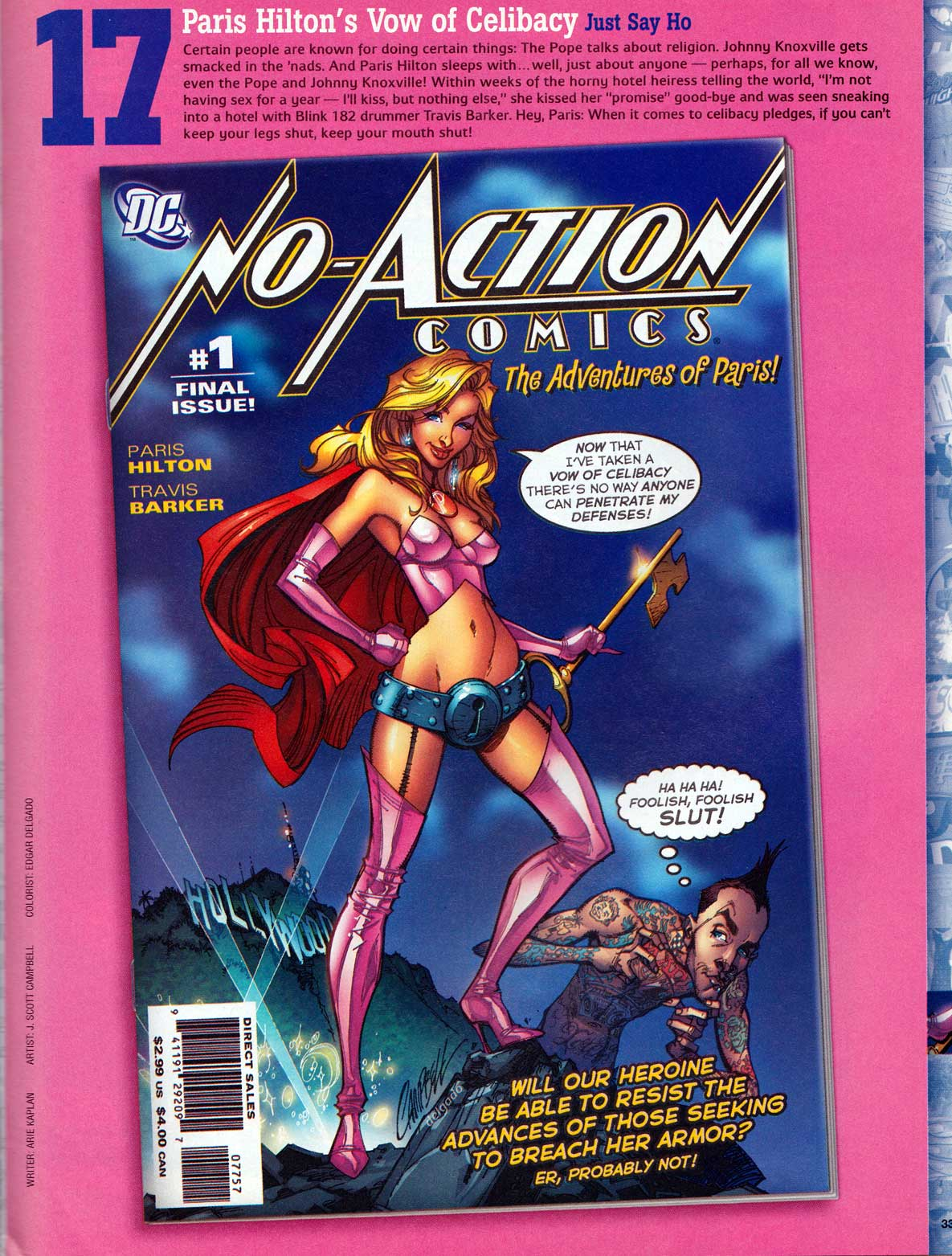 No Action Comics