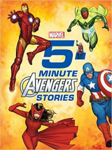 5 Minute Avengers Stories Cover
